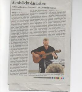 Steffen Laube - Köner Stadtanzeiger 4.1.16 1