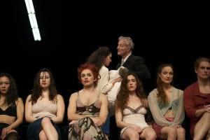 Tanztheater Wuppertal Pina Bausch  Die sieben Todsünden Generalprobe am 6.3.2020